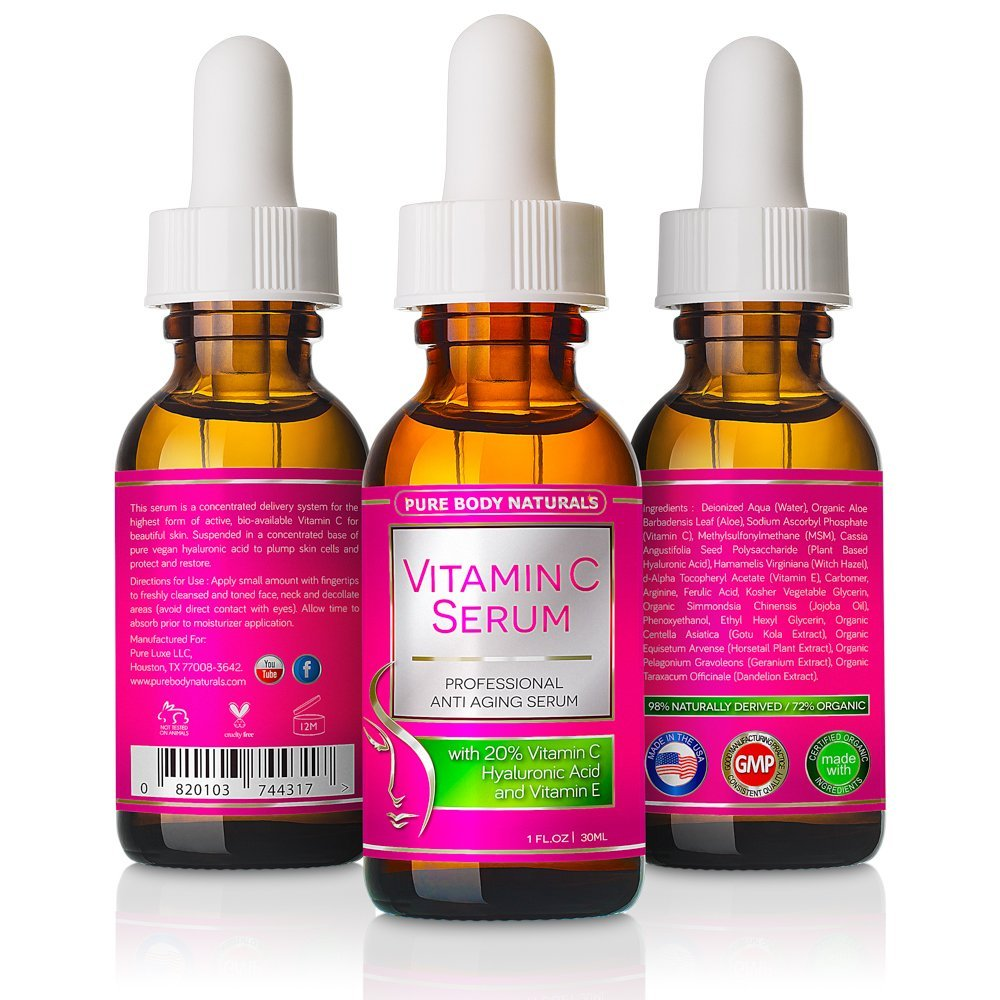 712IxNJ98KL. SL1000  2 - Vitamin C Serum for Face with Hyaluronic Acid