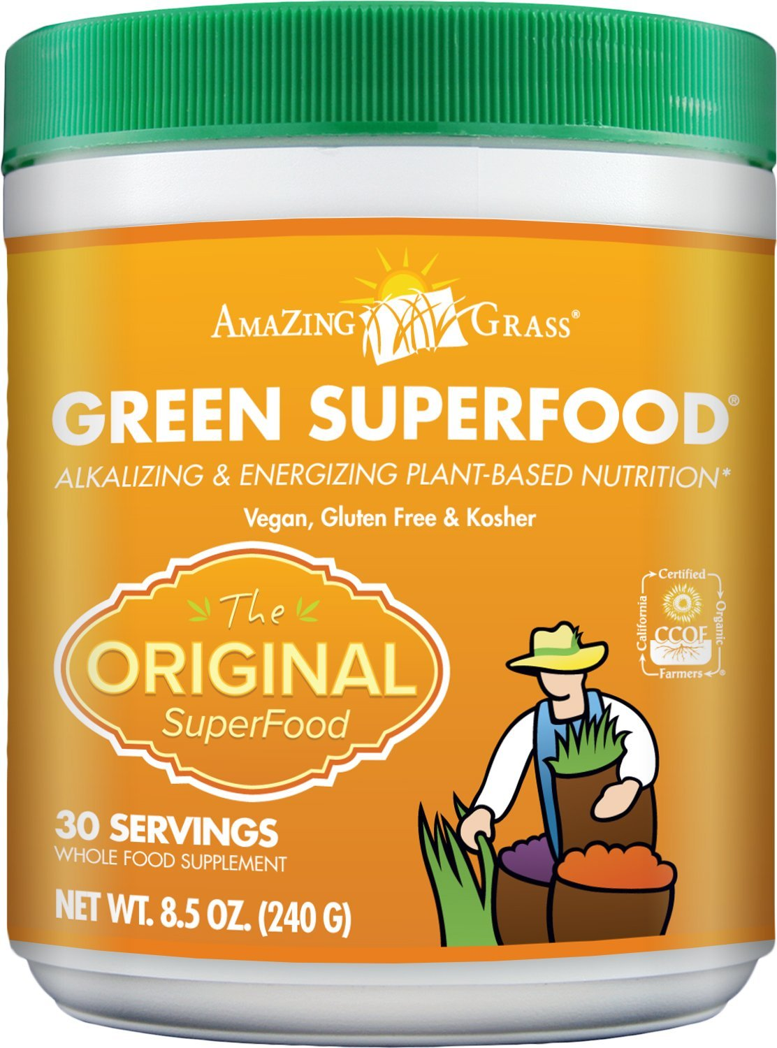 71rBxFXt6L. SL1500  2 - Amazing Grass Green SuperFood Original