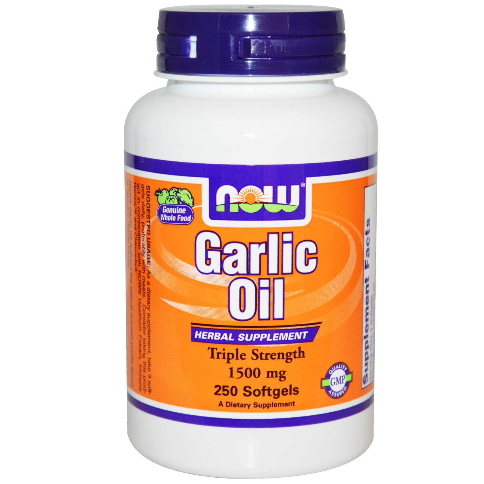 NOW 01792 2 2 - Garlic Oil, 1500 mg