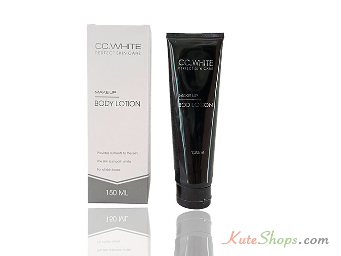 Kem Make-up Body Lotion CC White
