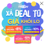 XẢ DEAL TO – GIÁ KHỎI LO